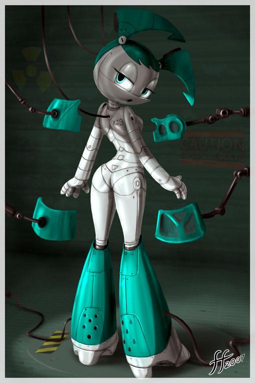 teenage life nude a as robot jenny my Half life 2 alyx nude