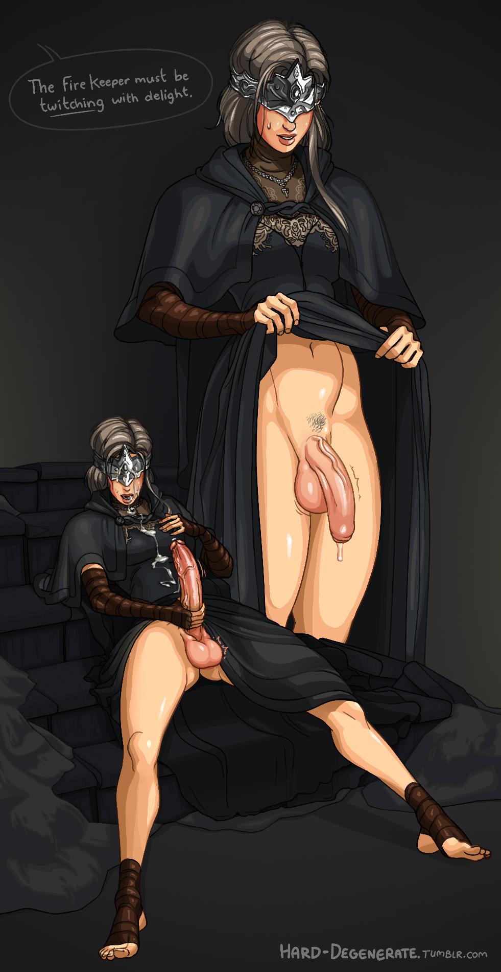 souls 3 dark robe fire keeper Blade of the immortal shira