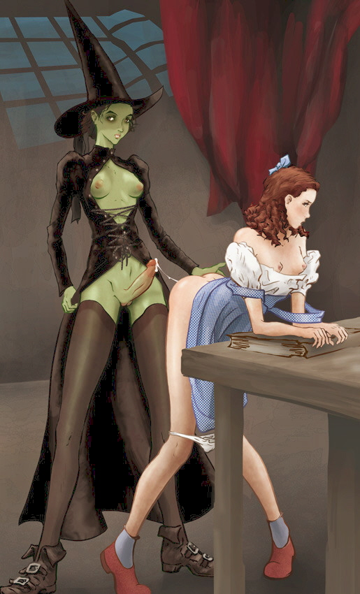 of oz wizard the hentai Adventure time susan and frieda