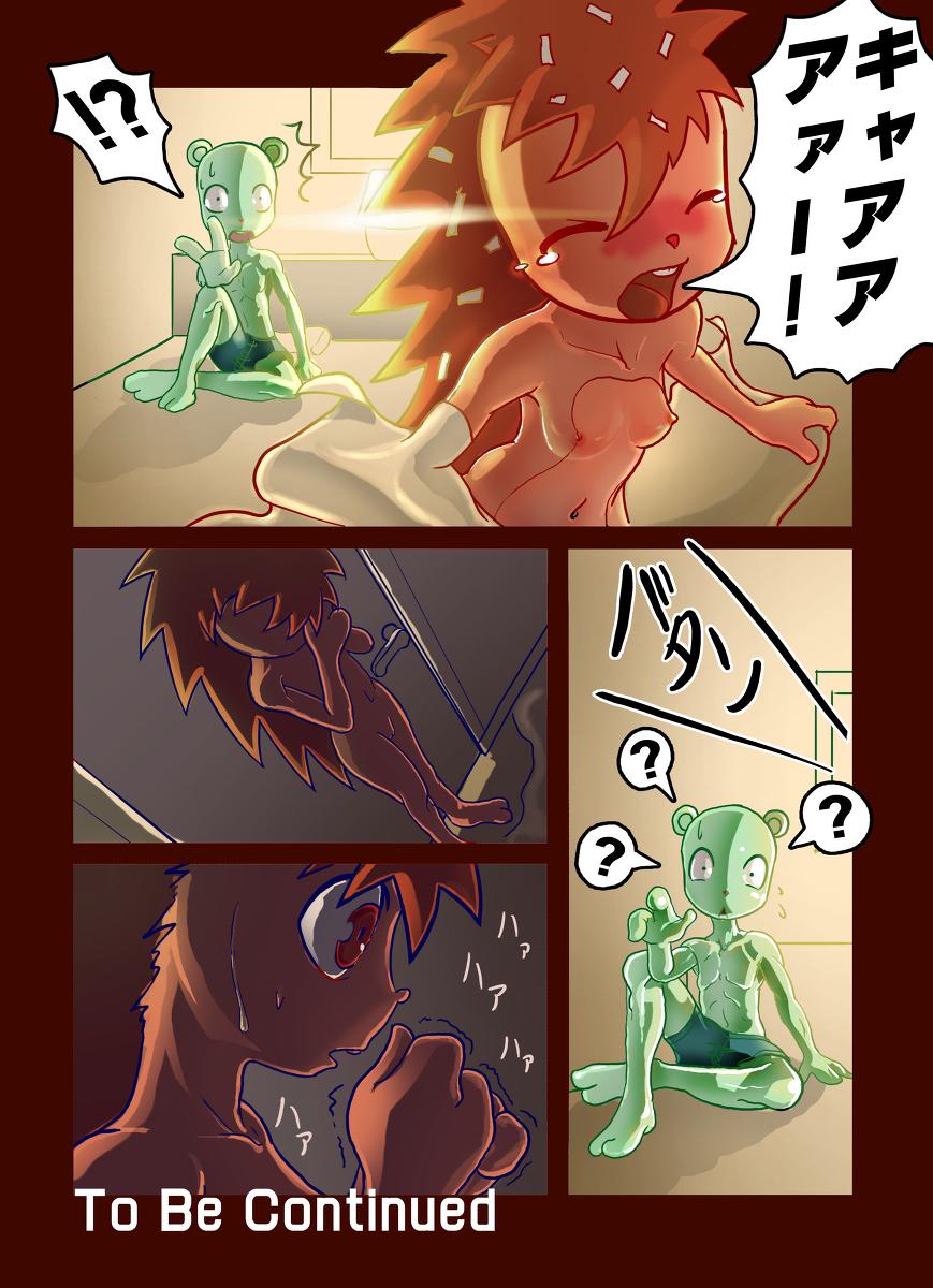 tree flaky happy and flippy friends anime Do you like horny bunnies 2