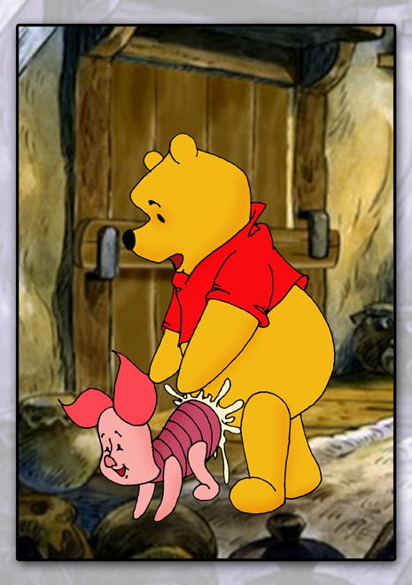 the nasty pooh winnie jack Scooby doo school of ghouls