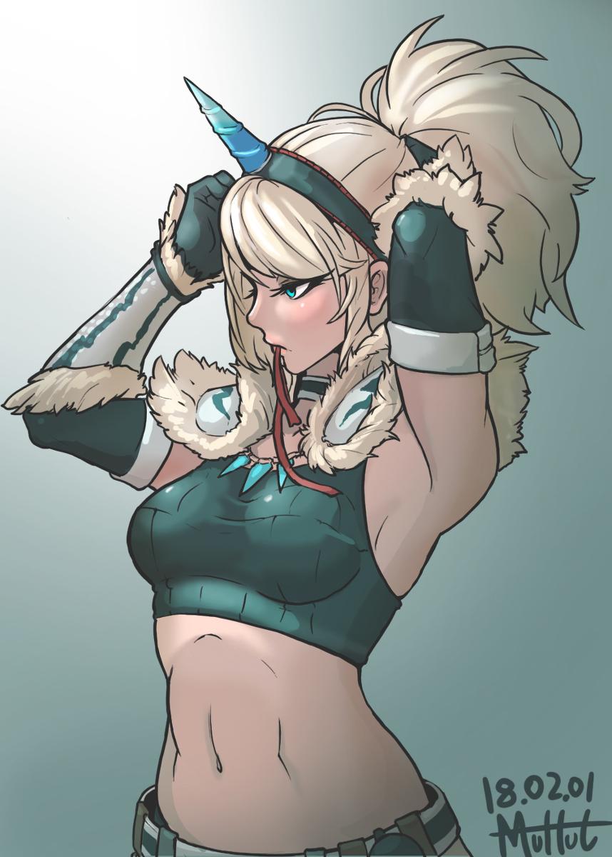 world hunter armor monster kirin Everyday life with monster girls suu