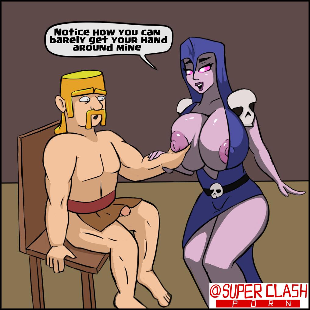 clash comic of clans xxx Dragon ball z pan super saiyan