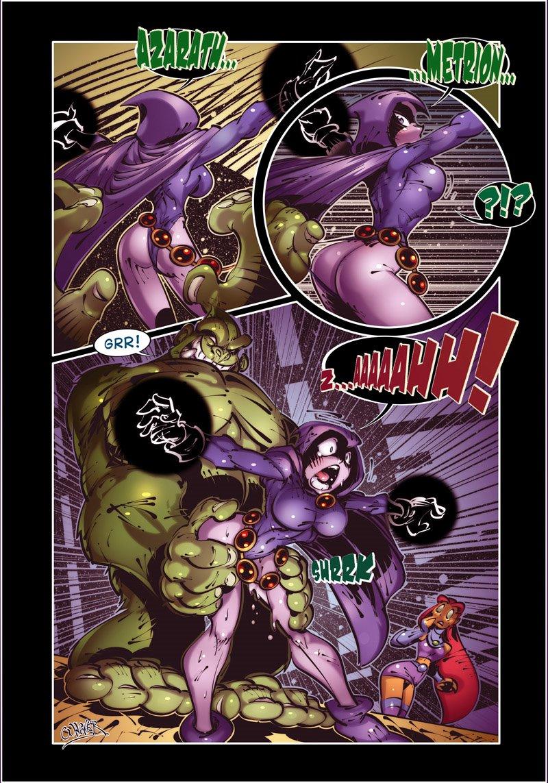 raven fanart beast boy x Mila dead or alive 5