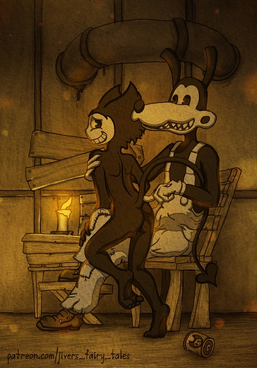 bendy ink the and machine Five nights at freddy's porn pics