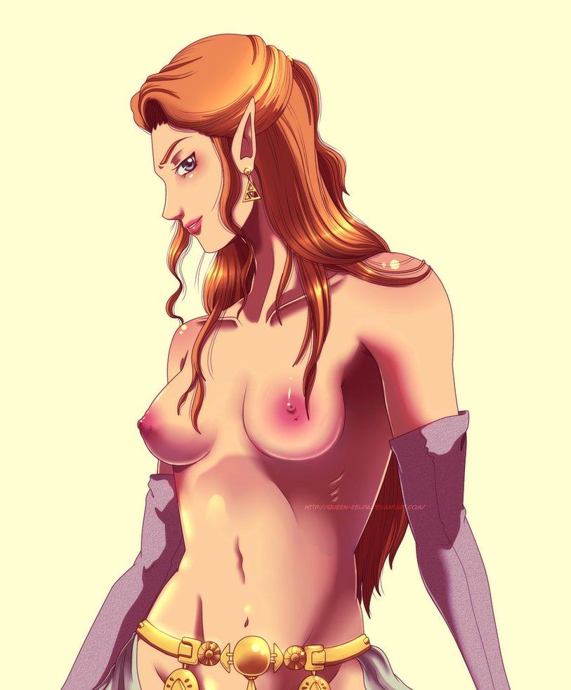naked botw zelda Hunchback of notre dame