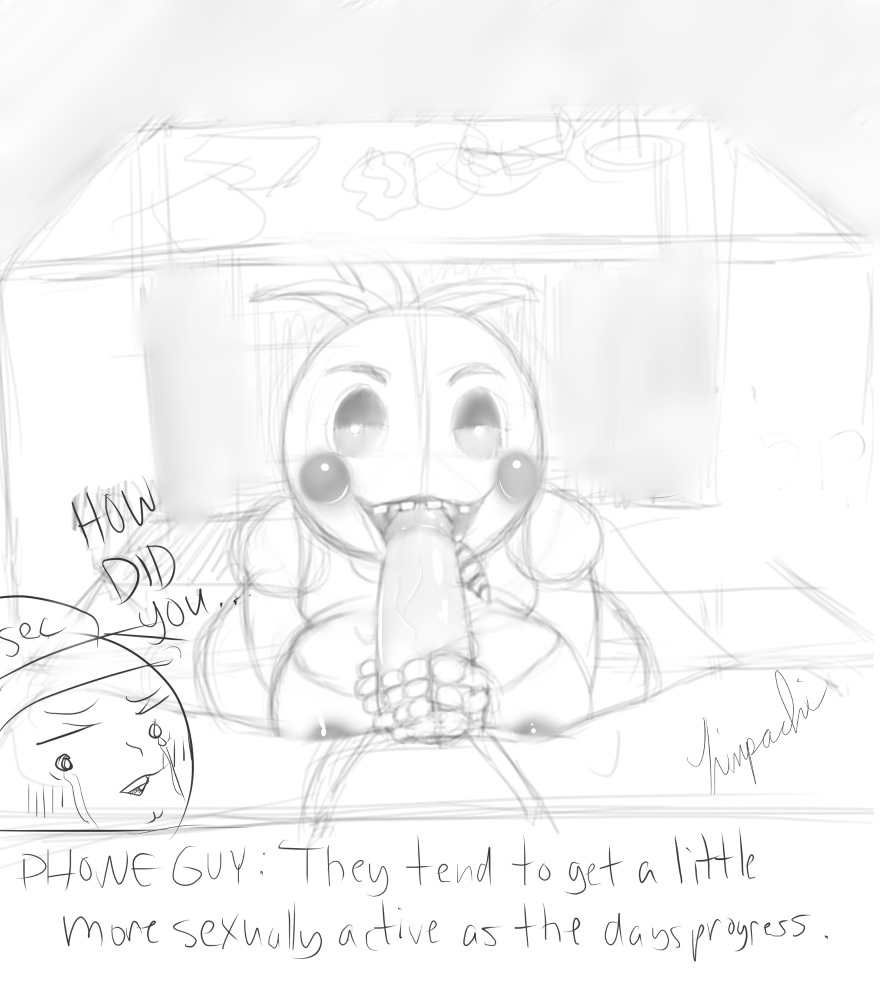 five nights naked at freddy's chica Ben 10 and wilykit sex