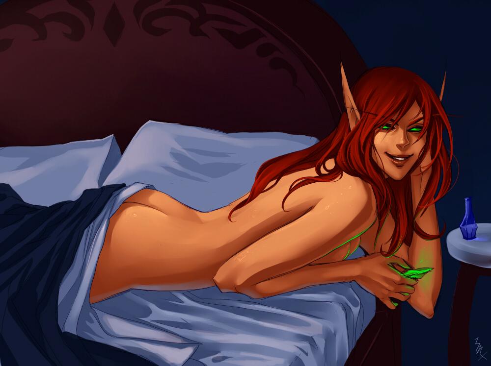 elf blood female death knight Steven universe pearl mystery girl