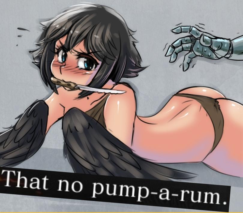 a pickle pee pump rump Dlis - night of revenge