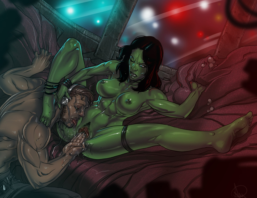 the gamora galaxy of naked guardians World of warcraft gay sex
