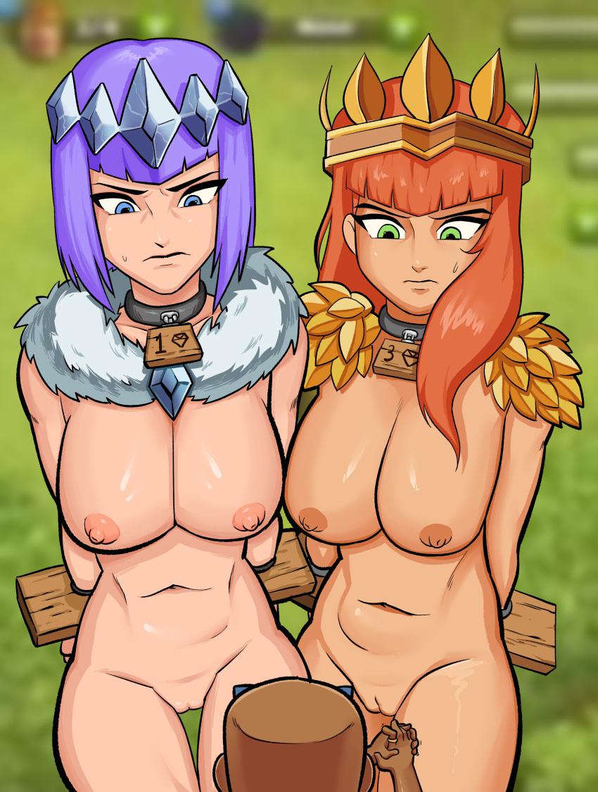 clash clans naked of archer Nande_koko_ni_sensei_ga!?