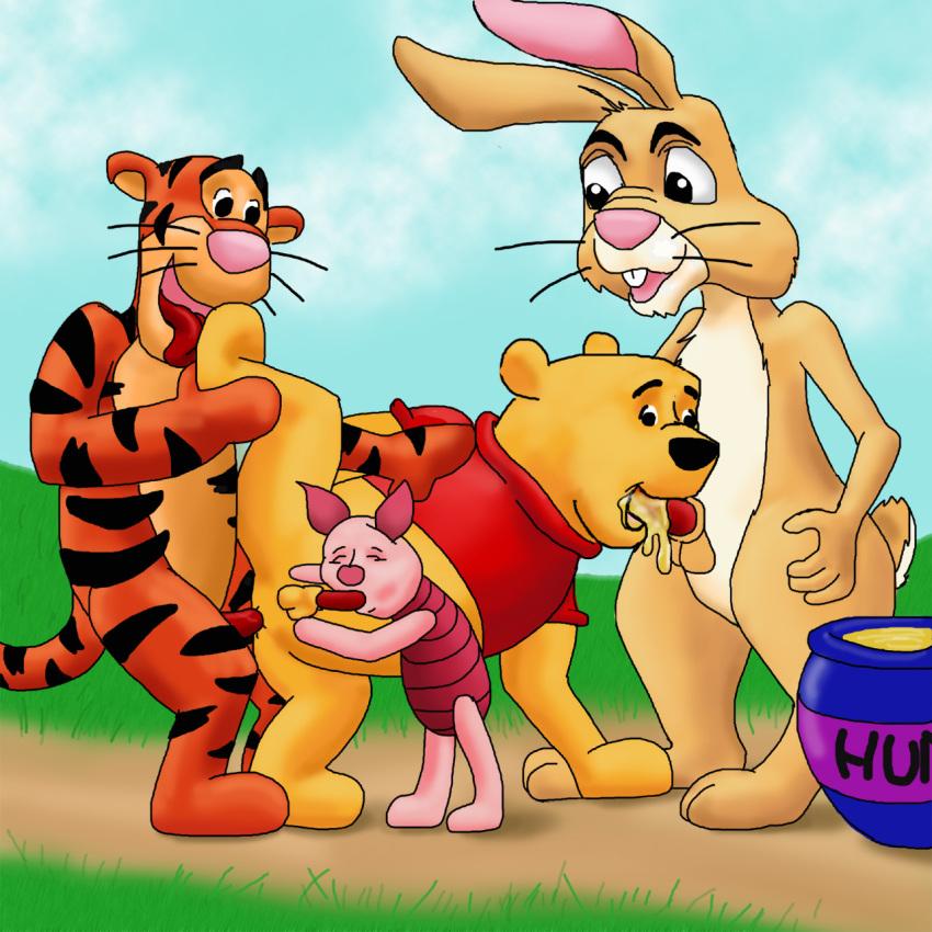 costume winnie the rabbit pooh from Seikon no qwaser mafuyu and sasha