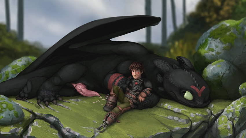 hiccup becomes fanfiction night fury a D&d female kobold