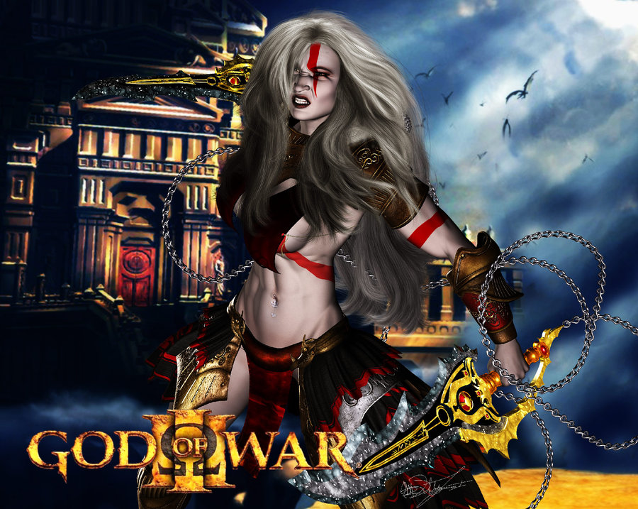 gif of war god 4 Ctrl alt del meme