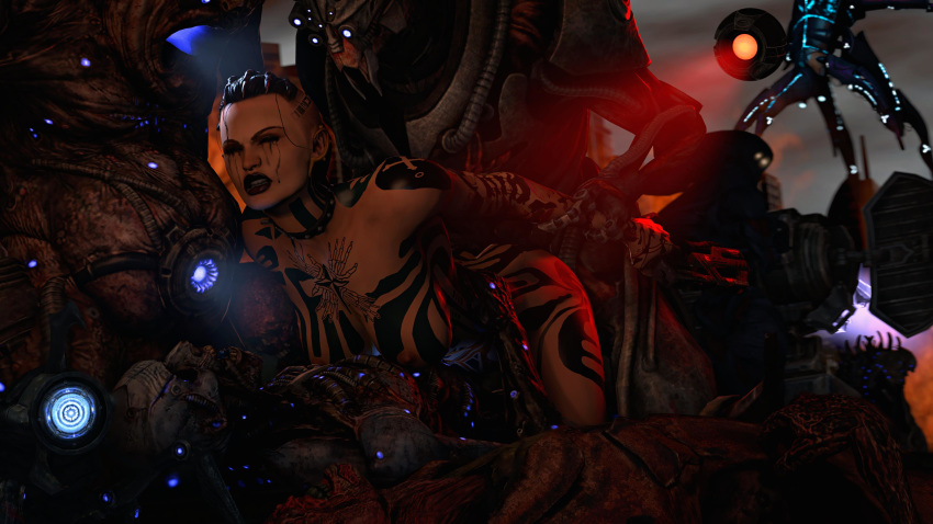 mass legion 2 help effect The duke of death and his black maid
