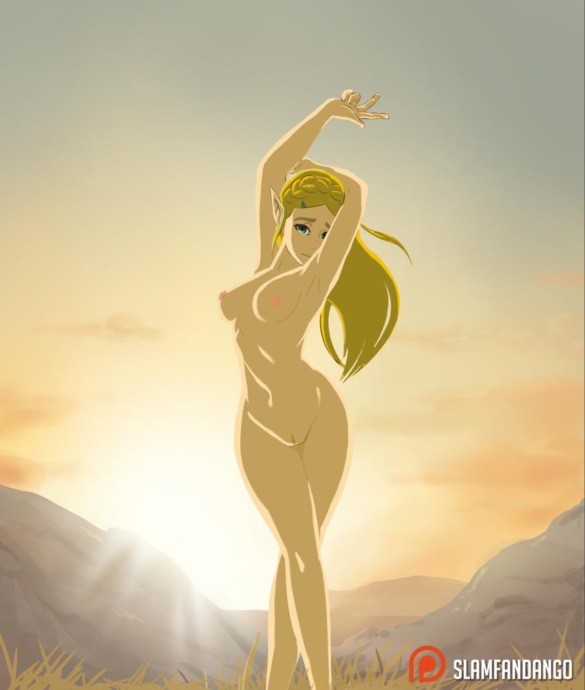 of zelda the wild of legend breasts Dragon ball super angels porn